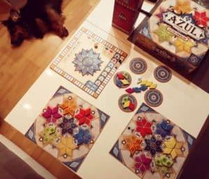 Seria Gier Azul to świetna gra abstrakcyjna