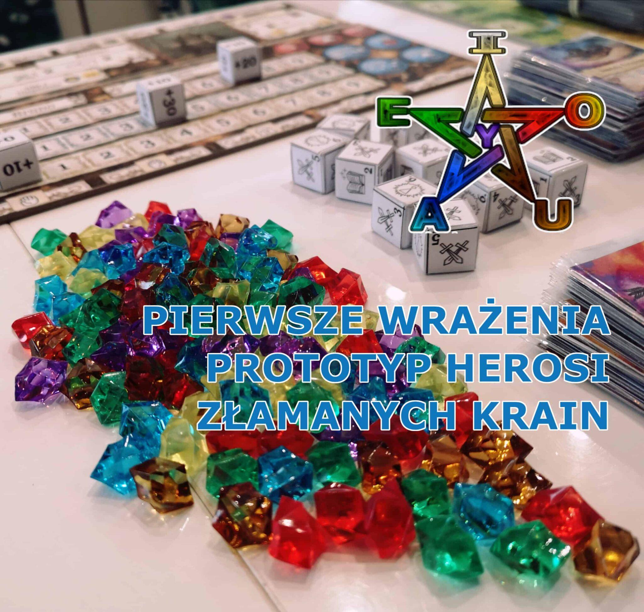 Read more about the article Pierwsze wrażenia z gry Herosi Złamanych Krain