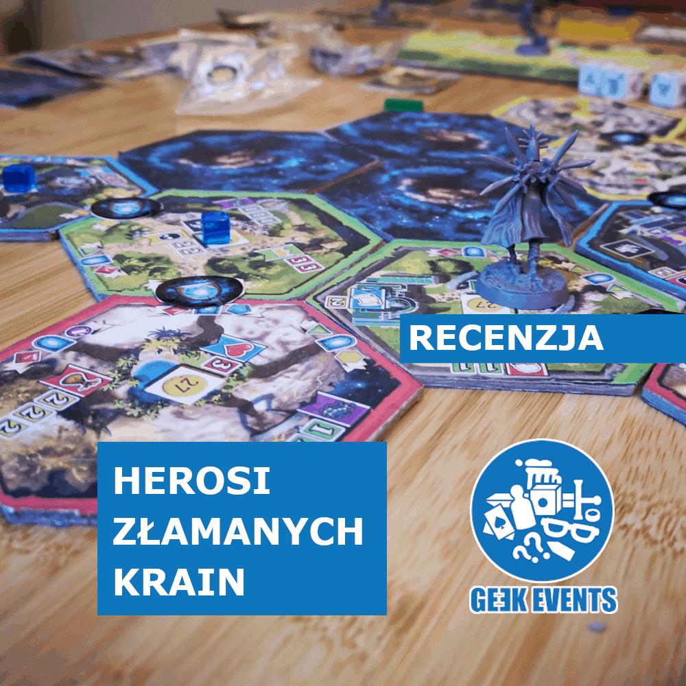 Read more about the article Recenzja: Herosi Złamanych Krain — niedługo kampania!