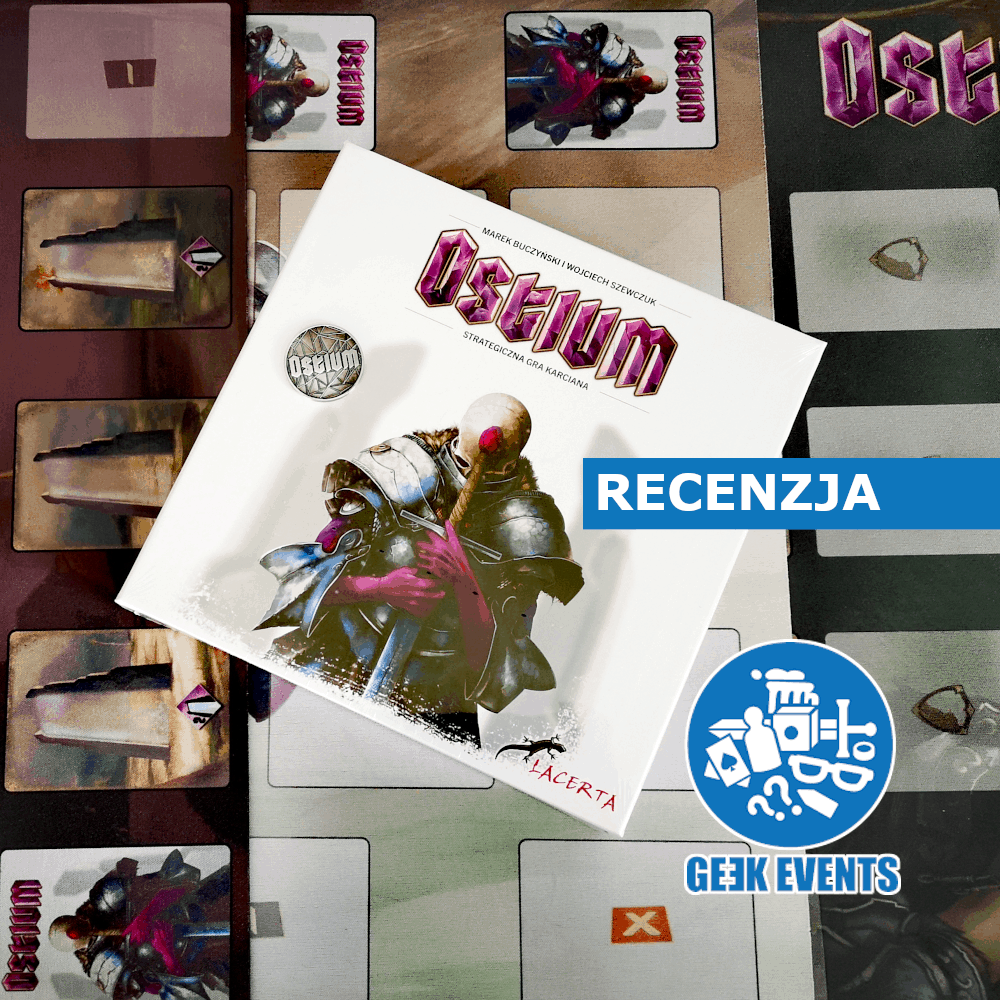 Read more about the article Recenzja: Ostium – strategiczna gra karciana