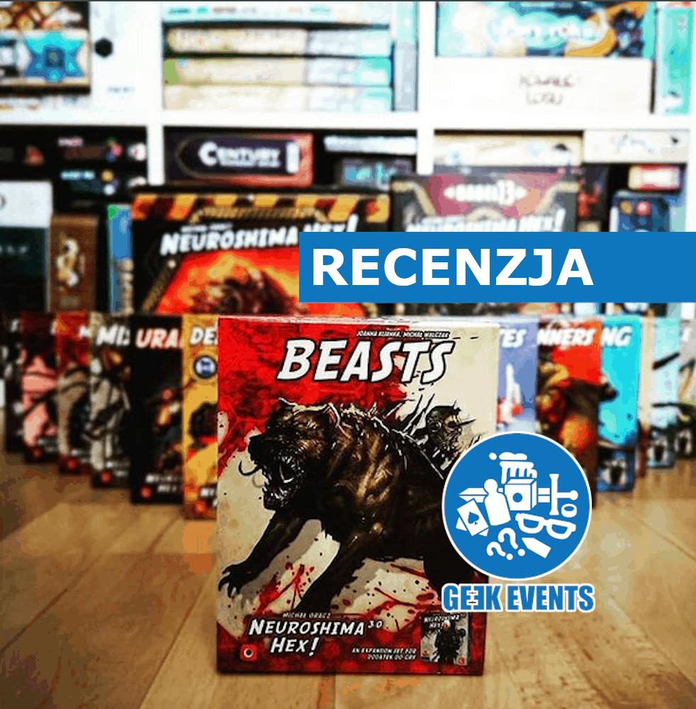 Read more about the article Recenzja: Bestie – najnowszy dodatek do Neuroshima Hex