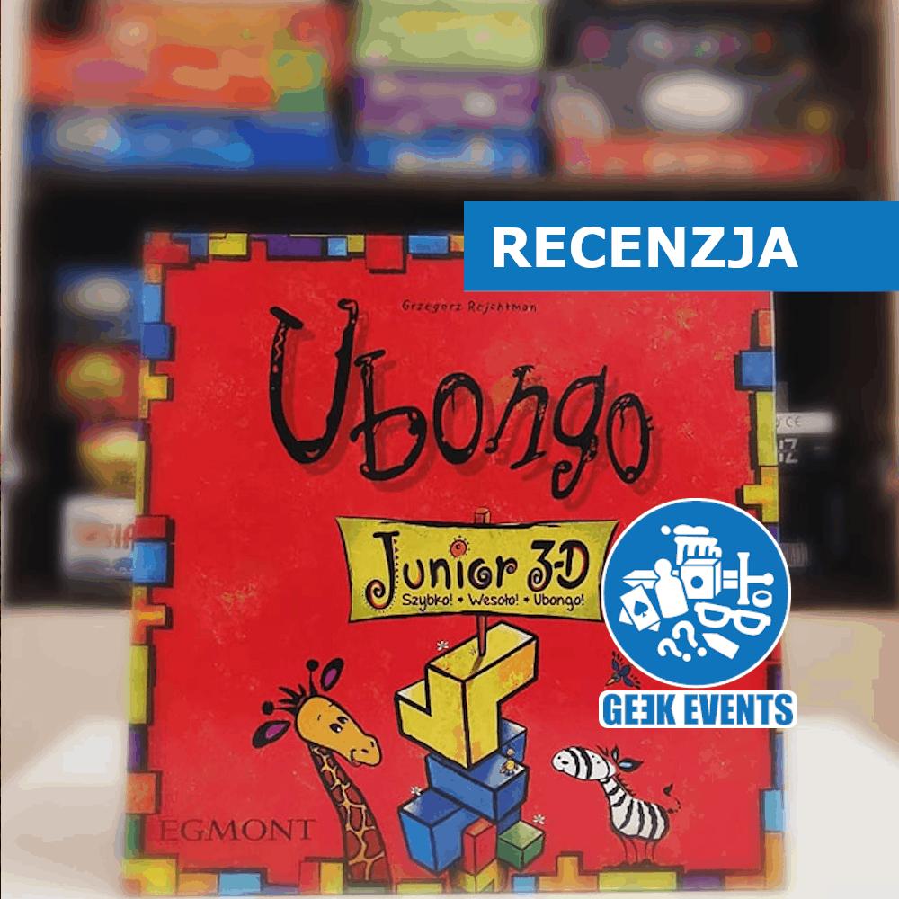 Read more about the article Recenzja: Ubongo Junior 3D – familijna gra logiczna dla najmłodszych!